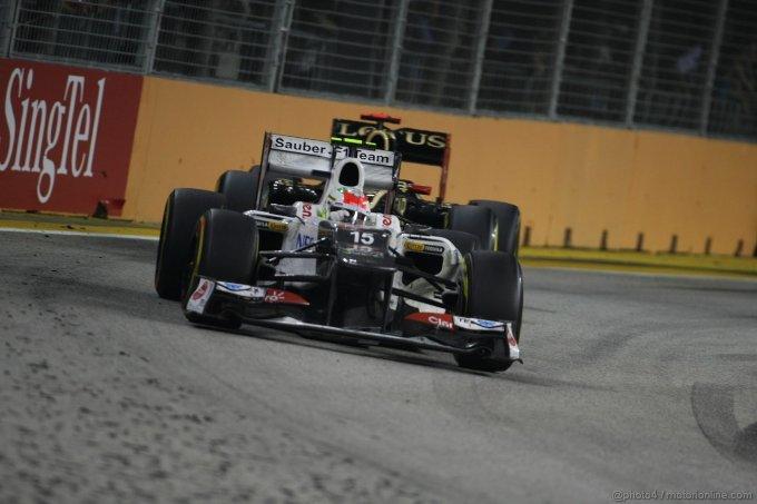 Singapore Grand Prix, Singapore 20 - 23 September 2012